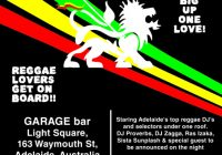 Reggae Friday #4 (Adelaide)