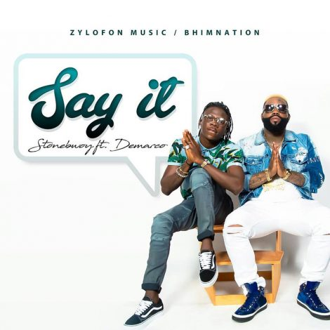 Stonebwoy Feat. Demarco – Say It – [Music Video]