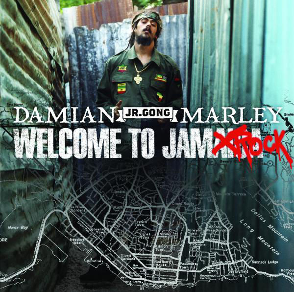 "Damian ""Jr. Gong"" Marley – Welcome to Jamrock"