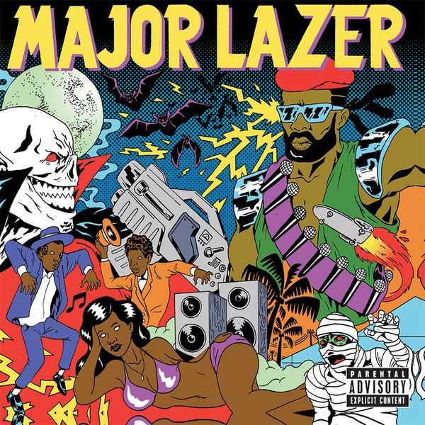 Major Lazer – Pon de Floor (feat. Vybz Kartel)