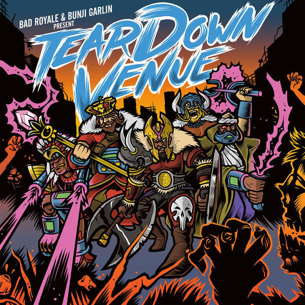 Bunji Garlin – Tear Down Venue (feat. Bad Royale)