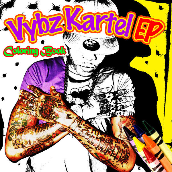 Vybz Kartel – Colouring Book / Tattoo Time Come