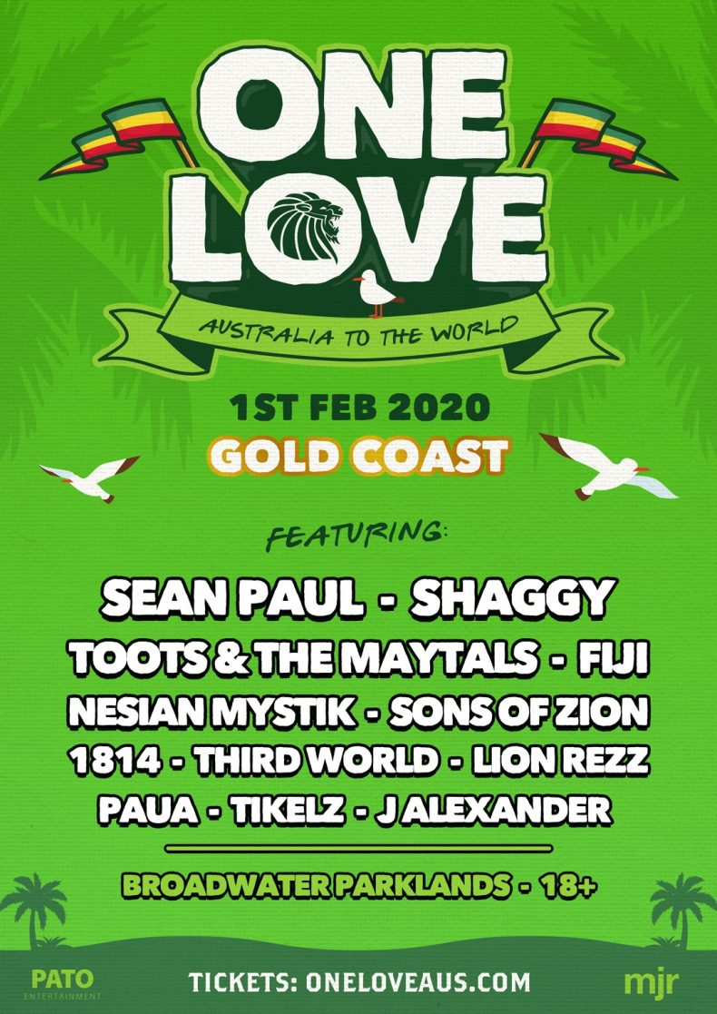 One Love Festival Gold Coast 2020