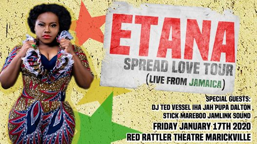 Etana spread the love tour