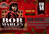 BOB Marley B/day BASH
