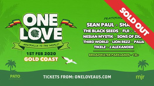 One Love Festival Gold Coast 2020 (SOLD OUT)